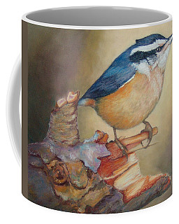 Red-breasted Nuthatch Bird Coffee Mug