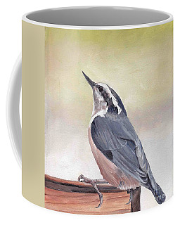 Red Breasted Nuthatch Coffee Mug