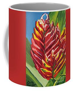 Red Bromeliad Coffee Mug