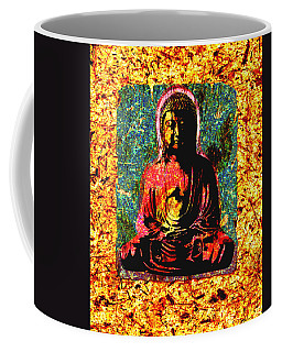 Red Buddha Coffee Mug
