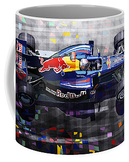 Red Bull Rb6 Vettel 2010 Coffee Mug