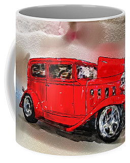 Red Car Coffee Mug