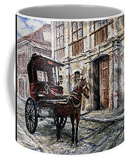 Red Carriage Coffee Mug