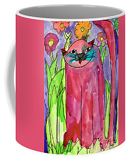 Red Cat Coffee Mug
