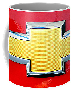 Red Chevy Bowtie Coffee Mug