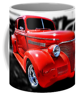 Red Chevy Hot Rod Coffee Mug