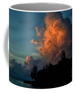 Red Clouds Coffee Mug by Michelle Meenawong