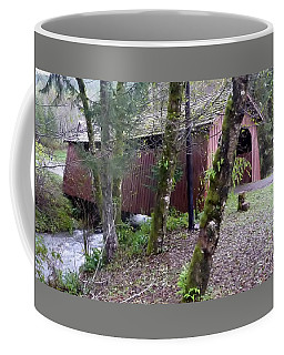 Red Covered Bridge  Coffee Mug