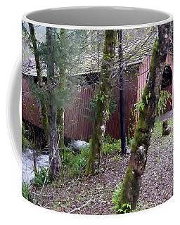 Red Covered Bridge  Coffee Mug by Susan Garren