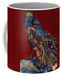 Red Crow Coffee Mug
