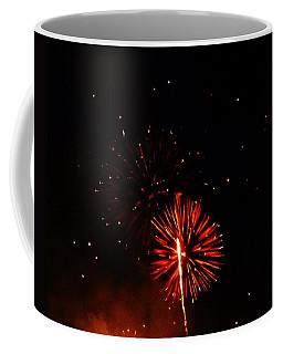 Coffee Mug featuring the photograph Red Dahlia by Amar Sheow