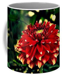 Red Dahlia Coffee Mug by Salman Ravish