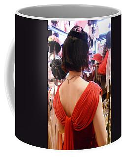 Red Coffee Mug by David Trotter