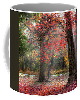 Red Dawn Square Coffee Mug