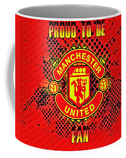 Red Devils Fan Poster Coffee Mug