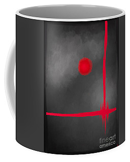 Red Dot Coffee Mug