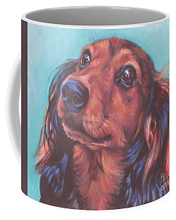 Red Doxie Coffee Mug