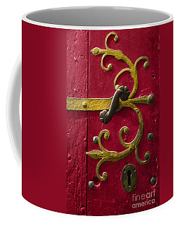 Red Entrance Coffee Mug