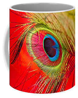 Red Feather Coffee Mug