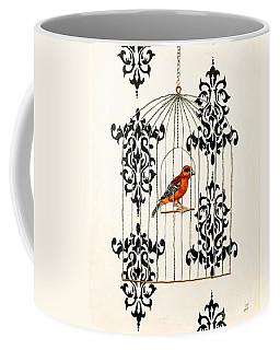 Red Finch Coffee Mug