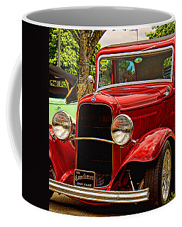 Red Ford Coupe Coffee Mug