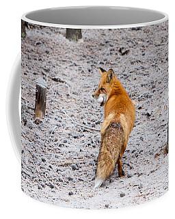 Red Fox Egg Thief Coffee Mug