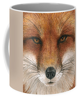 Red Fox Gaze Coffee Mug