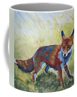 Red Fox Coffee Mug