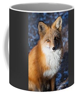Red Fox Standing Coffee Mug