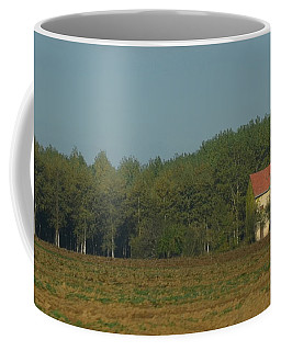 Red French Cottage Coffee Mug
