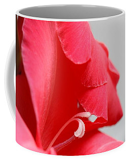 Lady In Red Coffee Mug by Patti Whitten
