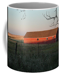 Red Granary Barn Coffee Mug