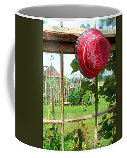 Red Hat By Jan Marvin Coffee Mug