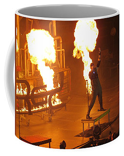 Coffee Mug featuring the photograph Red Heats Up Winterjam In Atlanta by Aaron Martens