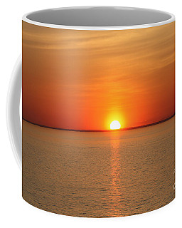 Red-hot Sunset Coffee Mug by John Telfer