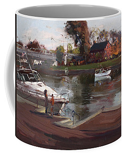 Red House In Tonawanda Coffee Mug