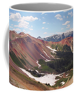 Red Iron Mountain Coffee Mug
