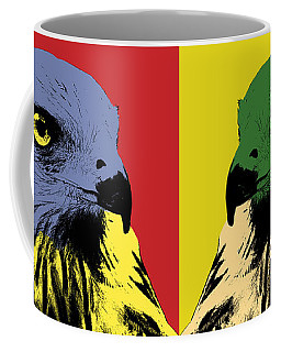 Red Kite Pop Art Coffee Mug