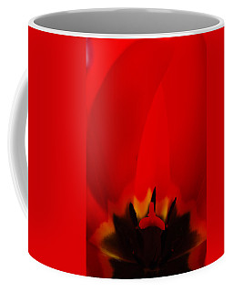 Red Lips Coffee Mug by Jani Freimann