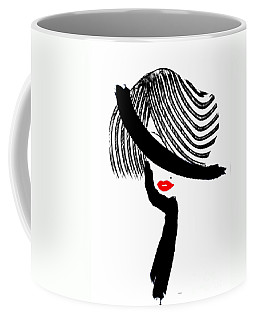 Red Lips Coffee Mug