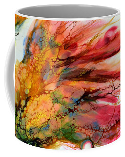 Red Orange Flowers Coffee Mug