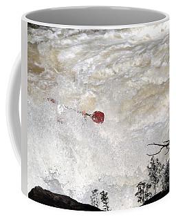 Red Paddle Coffee Mug