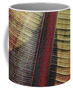 Coffee Mug featuring the photograph Red Palm by Nadalyn Larsen