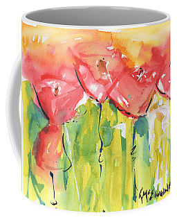 Red Poppy Party Coffee Mug