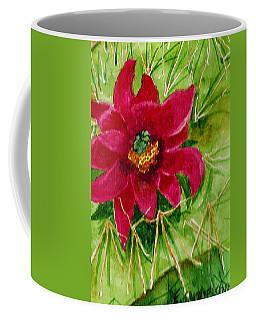 Red Prickly Pear Coffee Mug