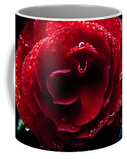 Red Rain Coffee Mug by Glenn DiPaola