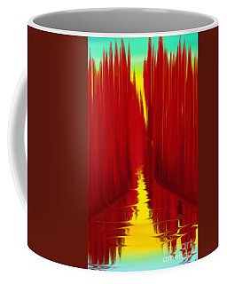 Red Reed River Coffee Mug