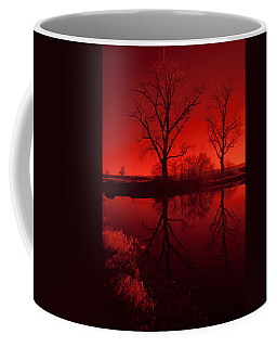 Red Reflections Coffee Mug
