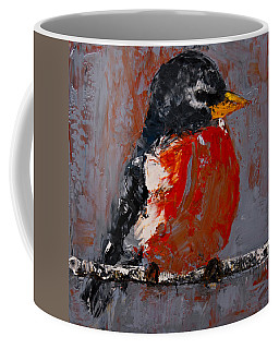 Red Robin Coffee Mug
