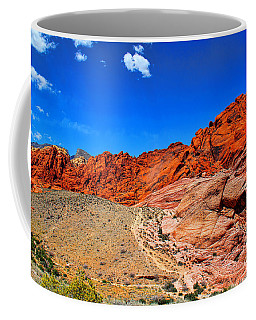 Red Rock Canyon Coffee Mug by Mariola Bitner